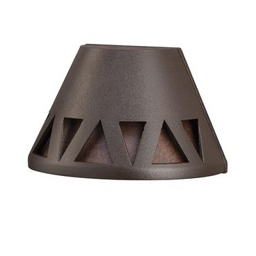 New triangle embedded deck light